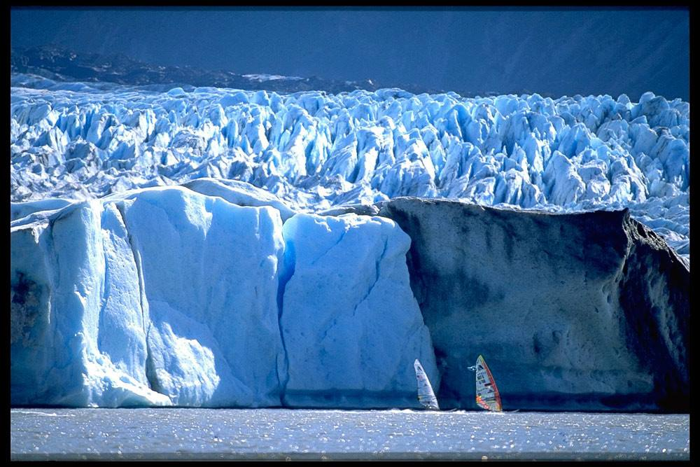 Alaska, Knik glacier in 1996 (Photo: Richard Pichler)
