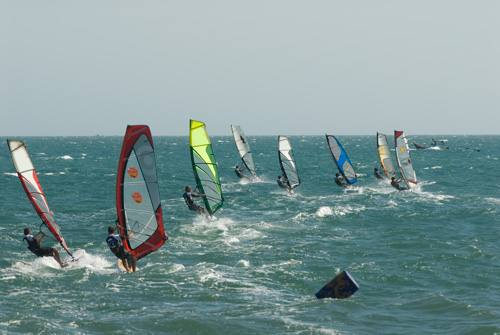 Up to 25knots for this race / pic: Kerstin Reiger