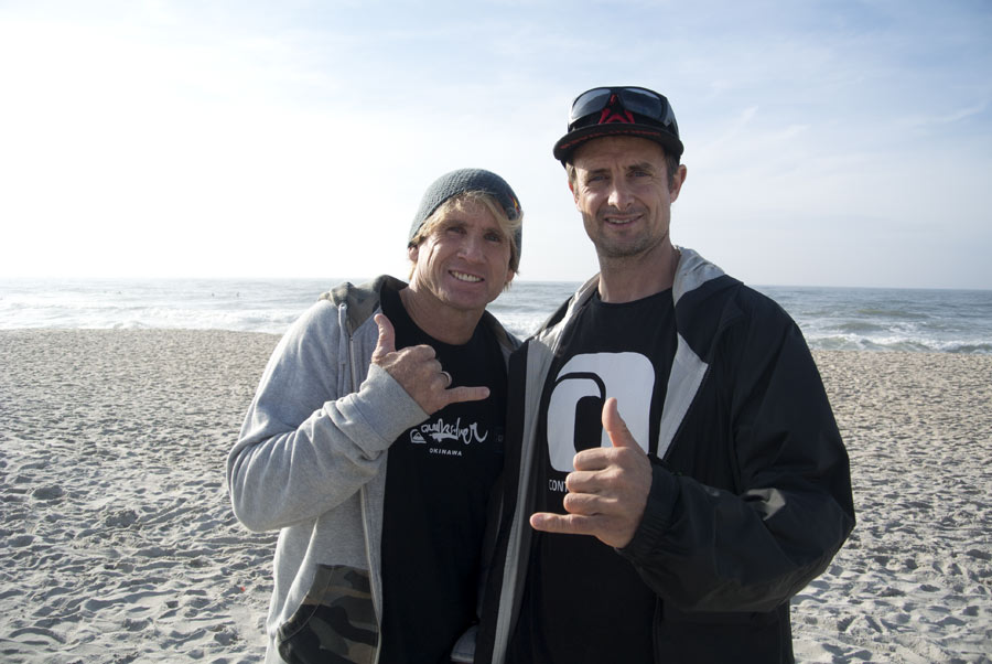After a nice interview with Robby Naish(Pic: Kerstin Reiger)
