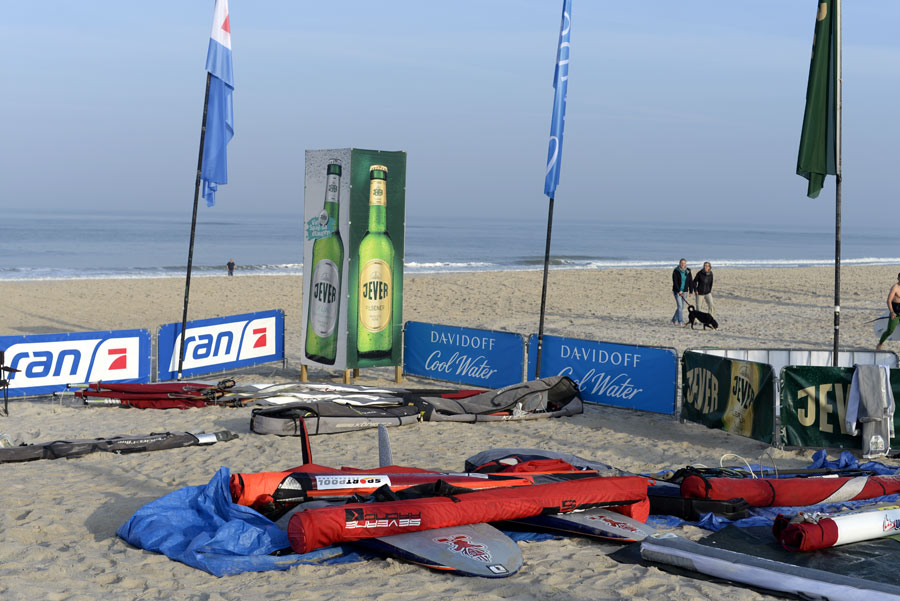 My spot in the equipment area at the Brandenburger beach (Pic: Kerstin Reiger)