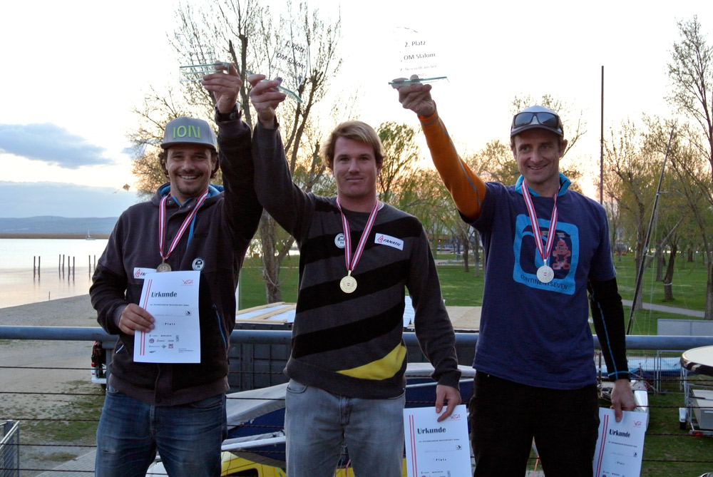 Made it on the podium, yeahh (Pic: Kerstin Reiger)