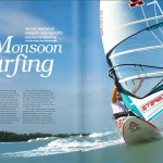 Monsoon Surfing (dec issue 2015, page 44/45 in Going Places