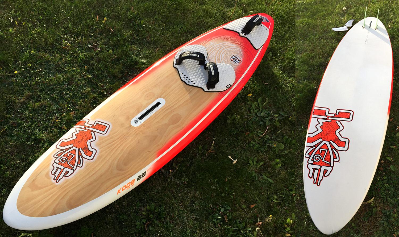 Starboard Kode Wave 83 wood 2015