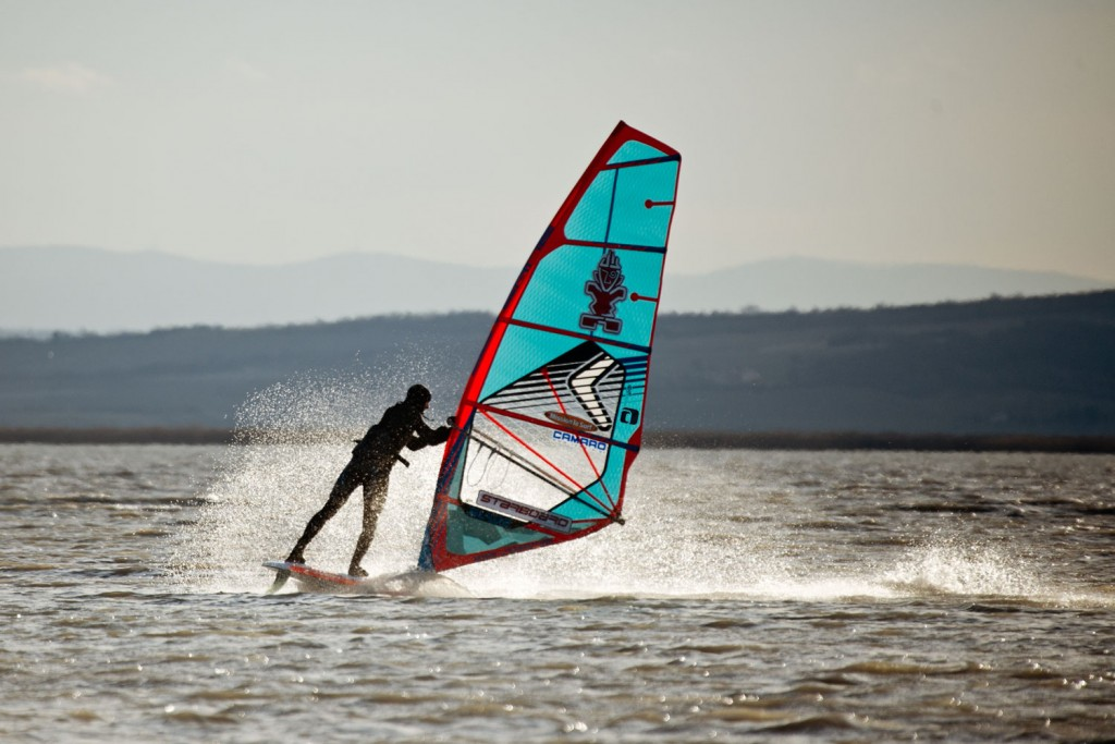 Freestyle in Illmitz at Lake Neusiedl (Pic: Kerstin Reiger)