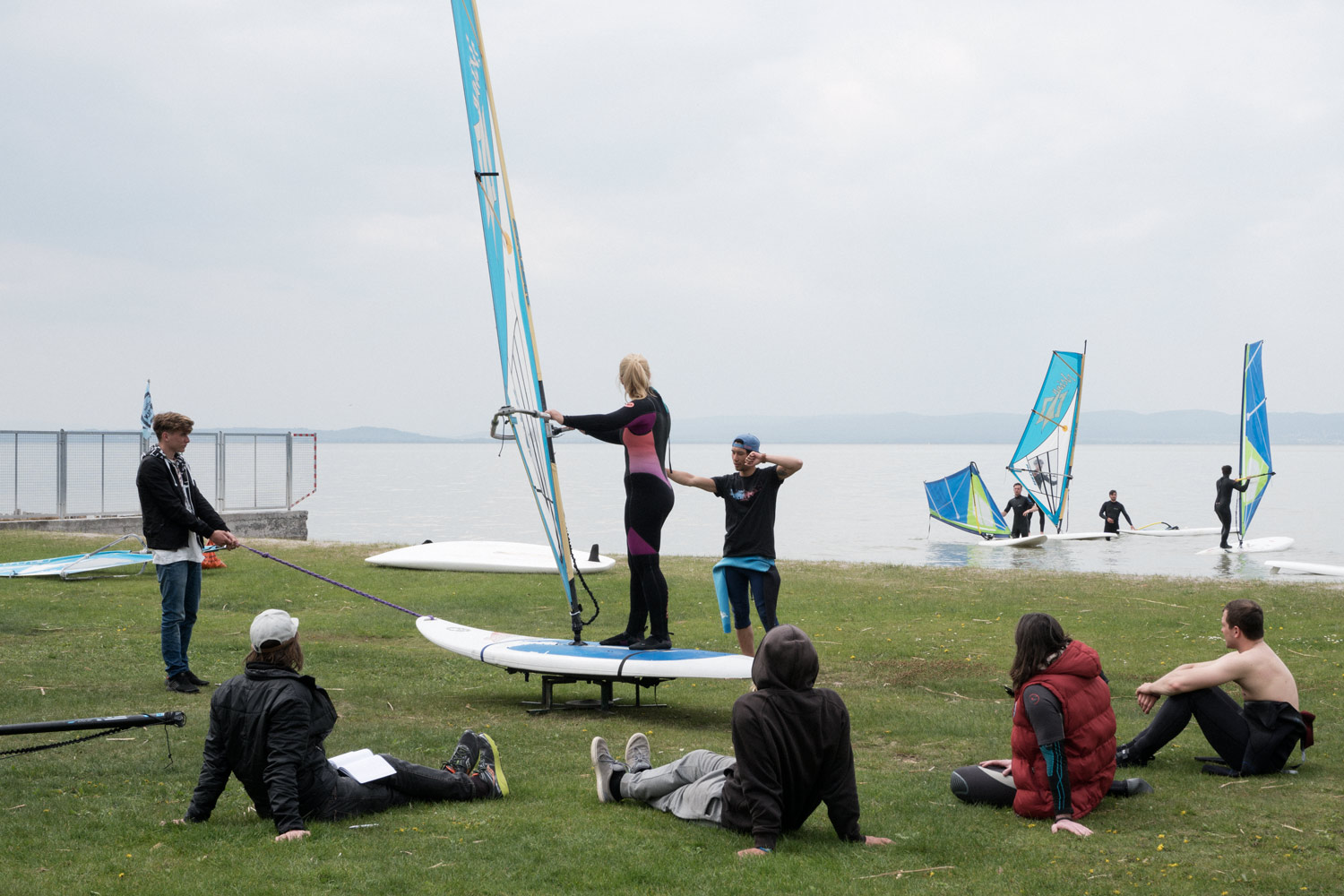 VOEWS Windsurfing instructor course 2017 {©Chris Pressler 2017