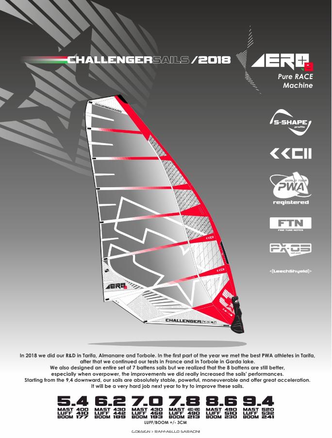 Challenger Aero+ 2018 - Slalom Racing