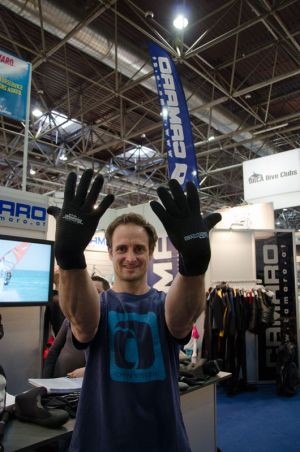 The latest gloves. Great stuff for icy days.